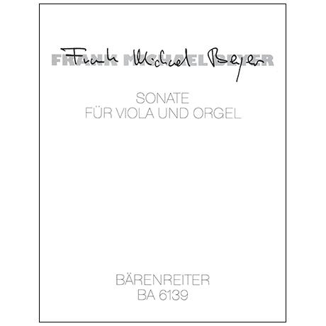 Beyer, F. M.: Sonate (1960)