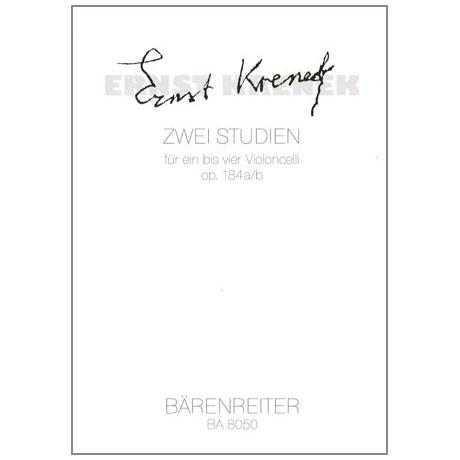 Krenek, Ernst: 2 Studien