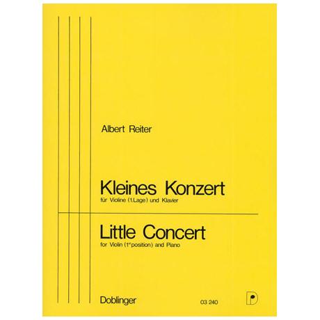 Reiter, A.: Kleines Violinkonzert