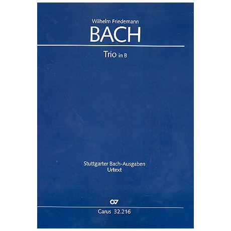 Bach, W.F.: Trio in B