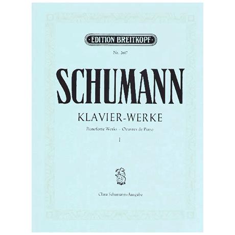 Schumann, R.: Sämtliche Klavierwerke Band VI: op. 99, 111, 118, 124, 126, 133