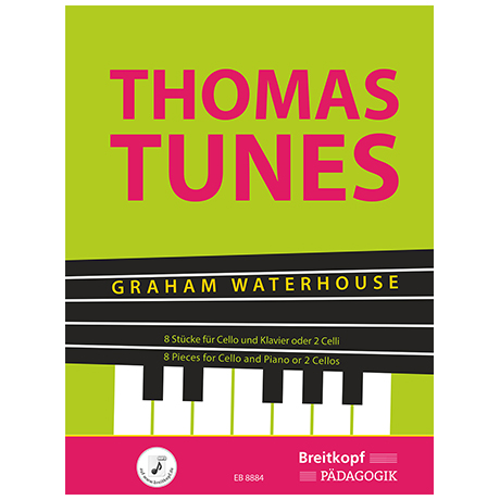 Waterhouse, G.: Thomas Tunes (+OnlineMP3)