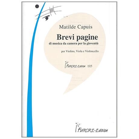 Capuis, M.: Brevi pagine di musica camera per la gioventù