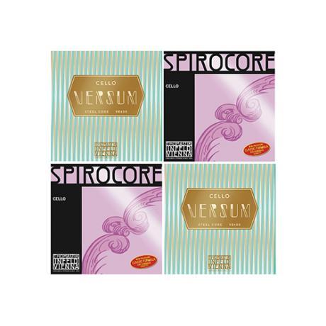 THOMASTIK Versum/Spirocore Cellosaiten SATZ