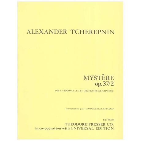 Tscherepnin, A. N.: Mystère Op. 37/2