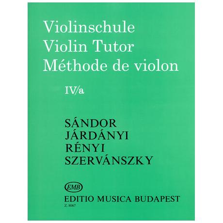 Sandor, F.: Violinschule Band 4 a