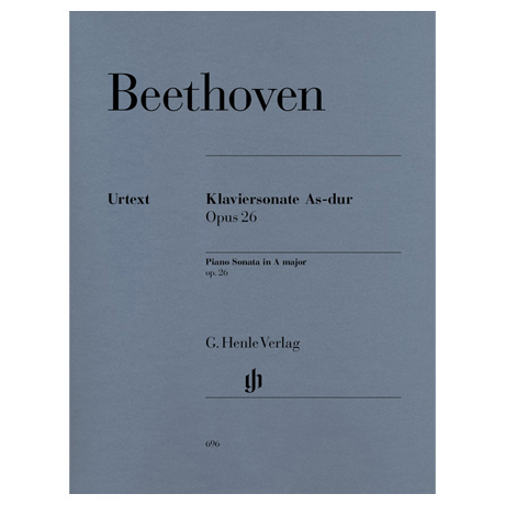 Beethoven, L. v.: Klaviersonate Nr. 12 As-Dur Op. 26