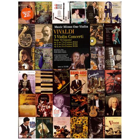 Vivaldi: 3 Violin Concerti op.8 Nr. 7-9 (+2CDs)