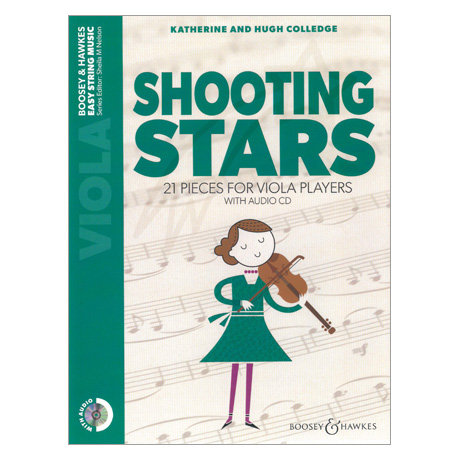 Colledge, K. & H.: Shooting Stars for Viola (+CD)