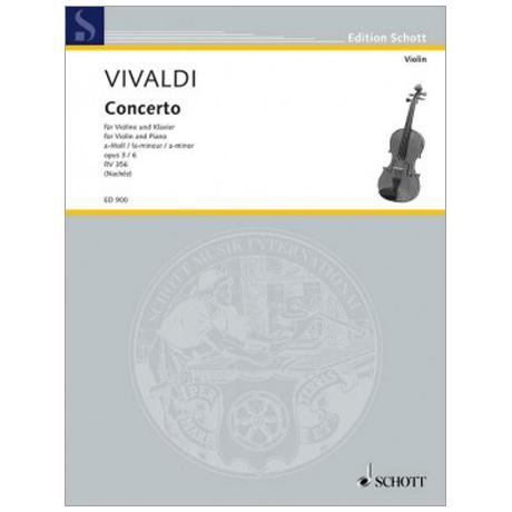 Vivaldi, A.: L'Estro Armonico Op. 3/6 a-Moll (RV 356 / PV 1)