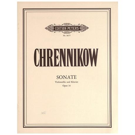 Chrennikow, T.: Violoncellosonate Op. 34