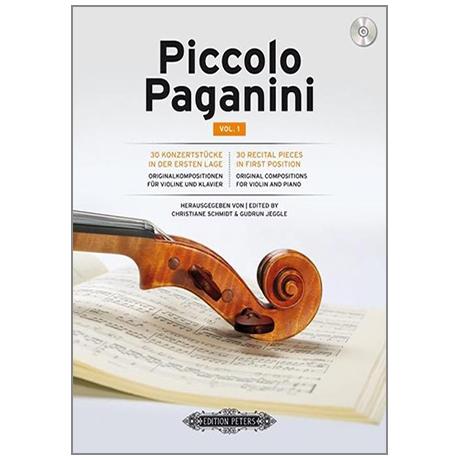 Schmidt, C. / Jeggle, G.: Piccolo Paganini (+CD) Band 1