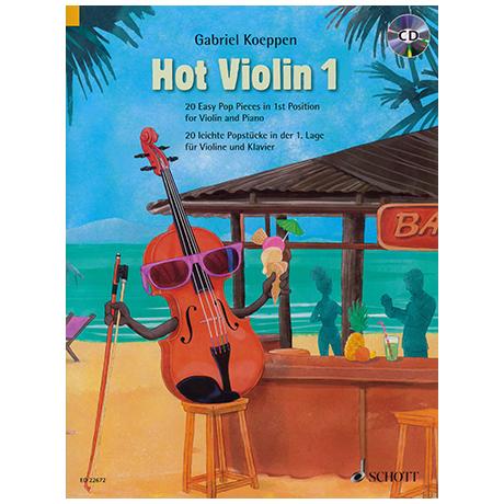 Koeppen, G.: Hot Violin 1 – 20 leichte Popstücke (+CD)