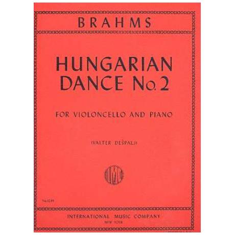 Brahms, J.: Ungarischer Tanz Nr. 2