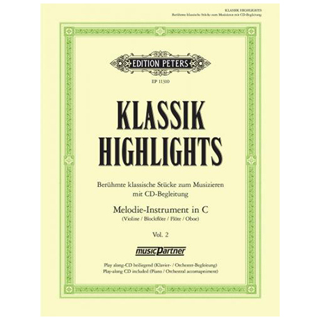 Klassik Highlights – Band 2 (+CD)