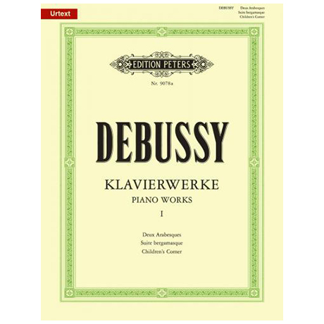 Debussy, C.: Deux Arabesques, Suite bergamasque, Children´s corner