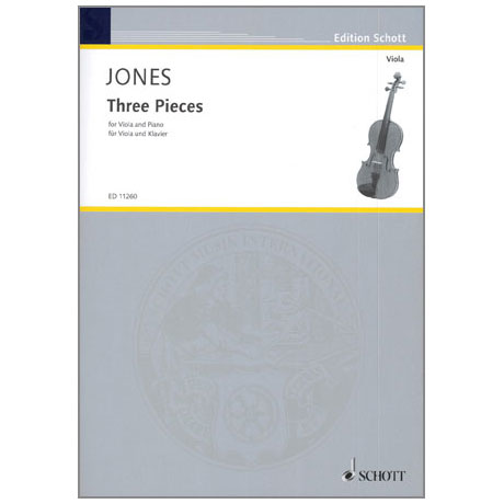 Jones, D.: Three Pieces