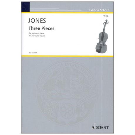 Jones, D.: Three Pieces