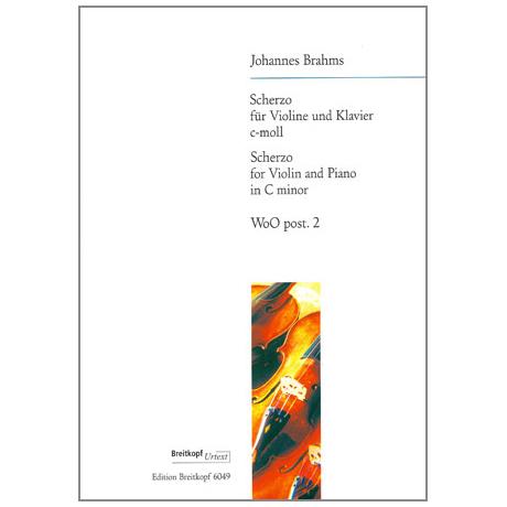 Brahms, J.: Sonatensatz (Scherzo) c-moll op. post.