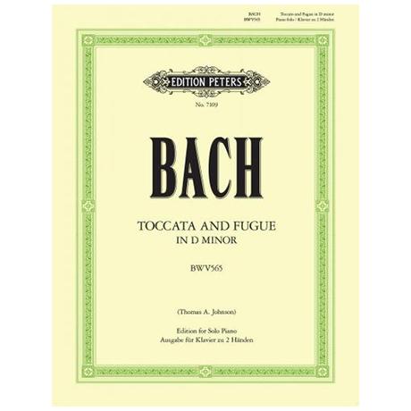 Bach, J. S.: Toccata und Fuge d-Moll BWV 565