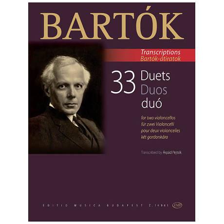 Bartók, B.: 33 Duos