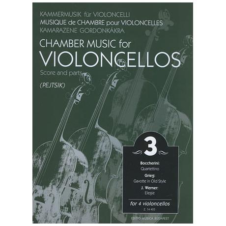 Kammermusik für Violoncelli Band 3