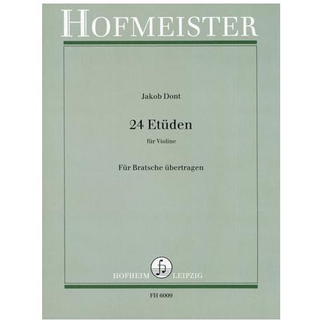 Dont, J.: 24 Etüden Op.35