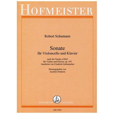 Schumann, R.: Sonate a-Moll Op.105
