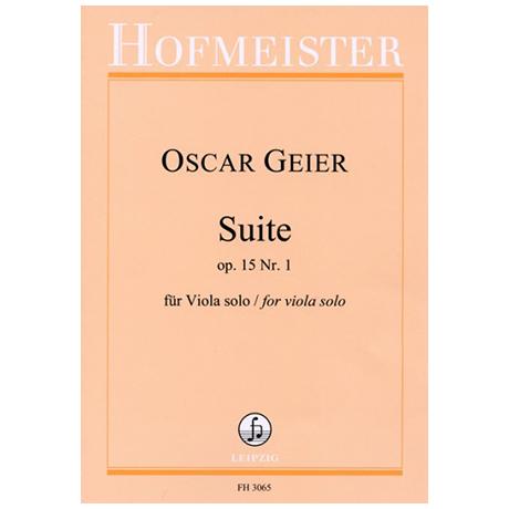 Geier, O.: Violasuite Op. 15 Nr. 1