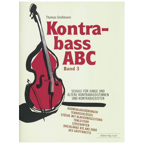 Großmann: Kontrabass ABC Band 3