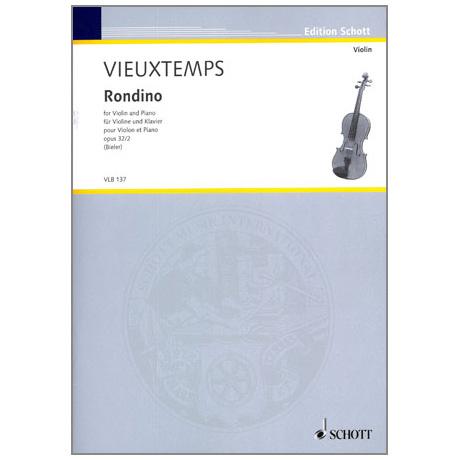 Vieuxtemps, H.: Rondino Op. 32/2