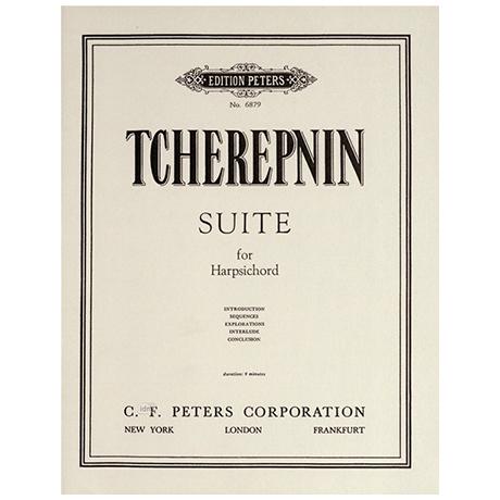 Tcherepnin, A.: Suite für Cembalo op. 100