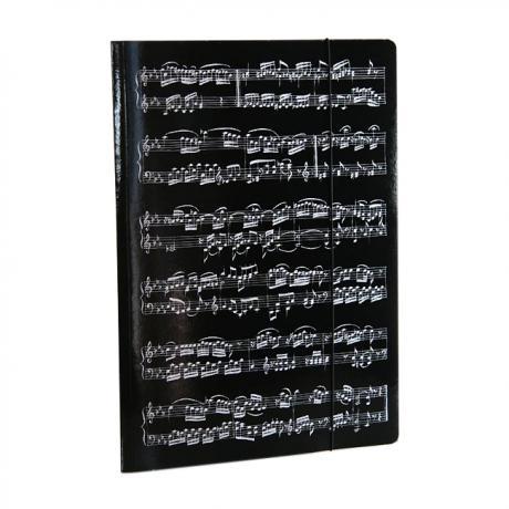 Sammelmappe MUSIC schwarz