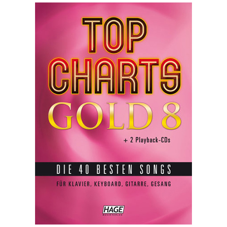 Top Charts Gold 8 (+2CDs)