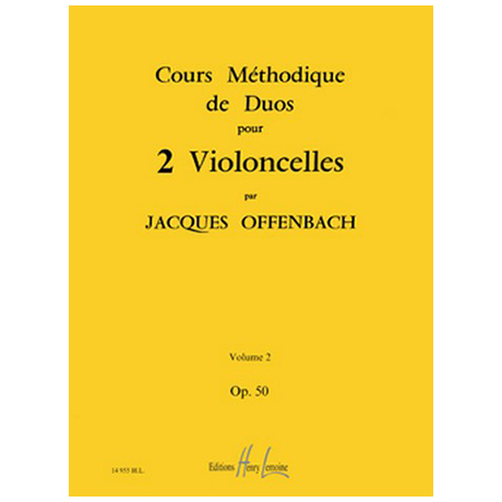 Offenbach, J.: Cours Méthodiques Op. 50 Bd. 2