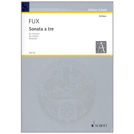 Fux, J. J.: Sonata a tre d-moll