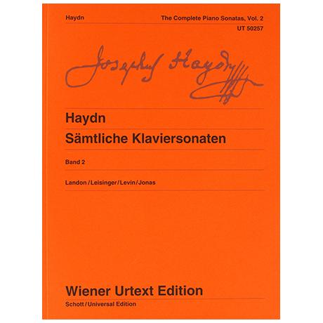 Haydn, J.: Sämtliche Klaviersonaten Band 2