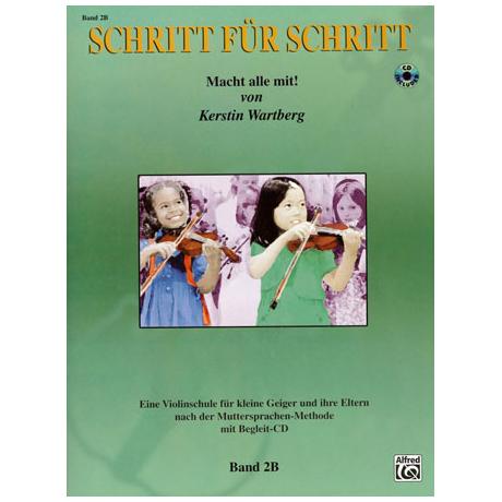 Wartberg, K.: Schritt für Schritt Band 2B (+CD)