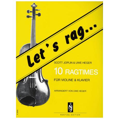 Heger, U./ Joplin, S.: Let's rag: 10 Ragtimes