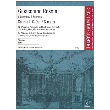 Rossini, G. A.: Sonata Nr. 1 G-Dur – Stimmen