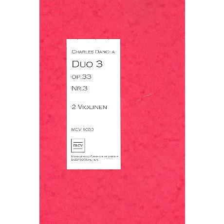 Dancla, C.: Duo Op.33 Nr.3