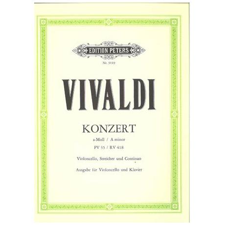 Vivaldi, A.: Cellokonzert a-moll PV 35 / RV 418