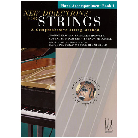 New Directions for Strings – Piano Accompaniments Book 1 (+CD)