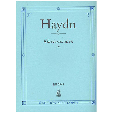 Haydn, J.: Klaviersonaten Band IV