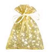 Geschenksäckchen gold