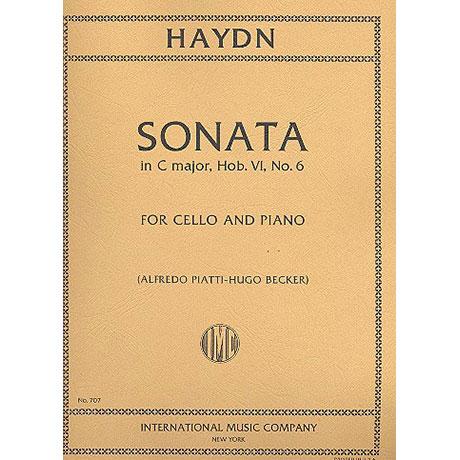 Haydn, J.: Sonate in C-Dur (Hob. VI Nr. 6)
