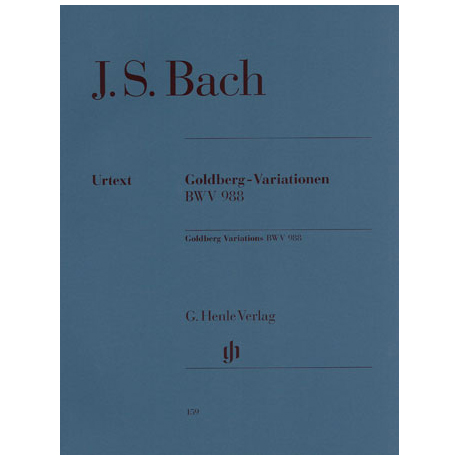 Bach, J. S.: Goldberg-Variationen BWV 988