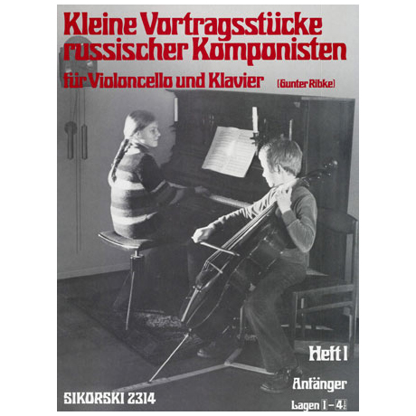 Kleine Vortragsstücke russischer Komponisten Band 1