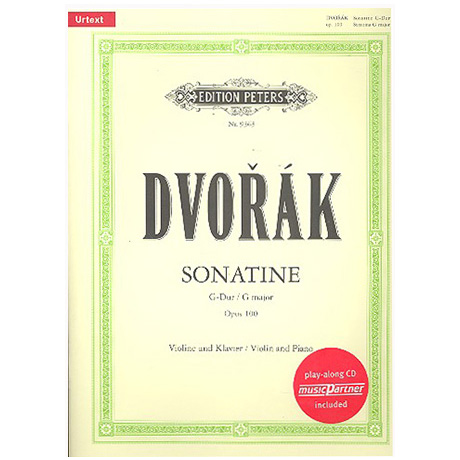 Dvořák, A.: Sonatine Op.100 G-Dur Urtext (+CD)