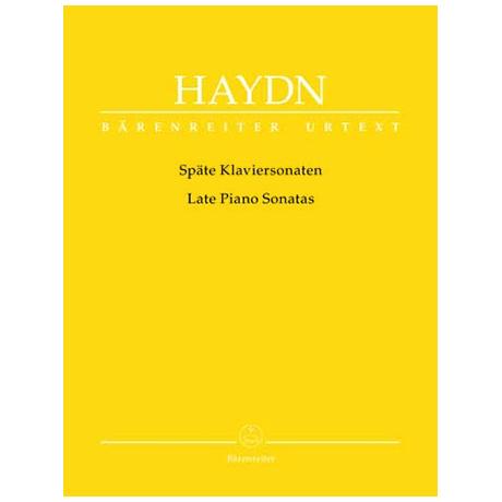 Haydn, J.: Späte Klaviersonaten